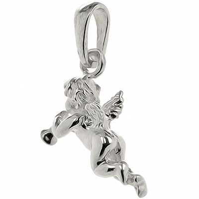 pendentif 2 anges