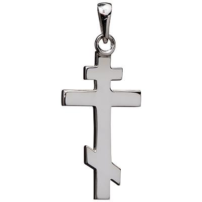 croix orthodoxe en or